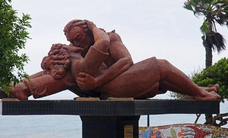 miraflores: El Parque del Amor in Lima - Miraflores district Stock Photo
