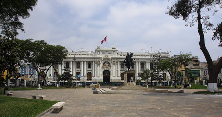 goverment: Building of the Congress of Peru in Lima