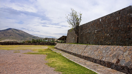 Wari is an old pre-Columbian civilization from areas near Ayacucho in Peru.