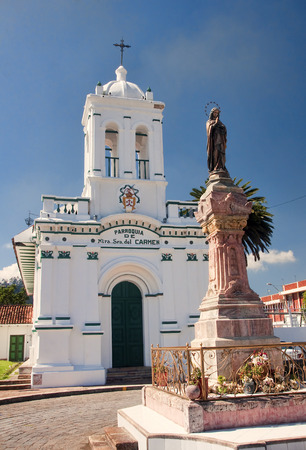 mariano: One of the ancient churches of the city of Cuenca, Ecuador