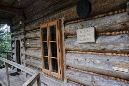 hermitage: Cottage - hermitage St. Brother Albert in Zakopane (Poland)