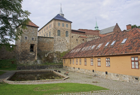 oslo: Akershus Fortress in Oslo, Norway.