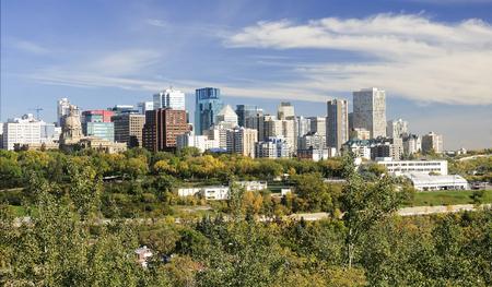 View of downtown Edmonton (Canada, Alberta)