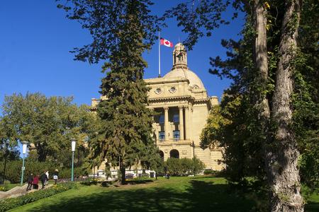 EDMONTON, CANADA - SEPTEMBER 13, 2016: Legislative Assembly of Alberta on September 13, 2016 in Edmonton, Canada. Legislative Assembly of Alberta today Consists of 83 Members of Legislative Assembly.