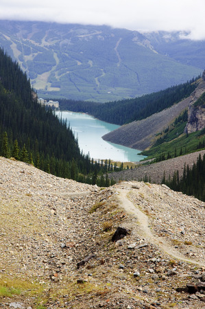 icefield: Banff National Park - view of Lake Louise (Canada)