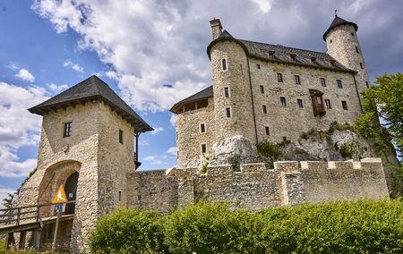 mirow: Medieval castle in Bobolice (Poland)