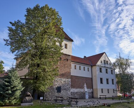 Piast Castle in Gliwice (Poland)..The castle from the mid 14th century located in the center of Gliwice Editorial