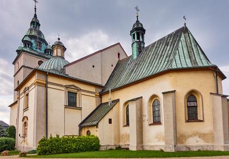 KETY, POLAND: Church Saint. Malgorzaty and Katarzyna. The baroque church built in 1657-1685 is located near the main square