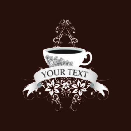 Coffee illustration  Ilustracja