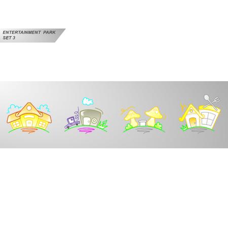 Entertainment Park Set 3