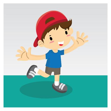 A Boy Ilustracja