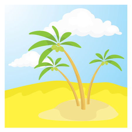 barren: Desert illustration
