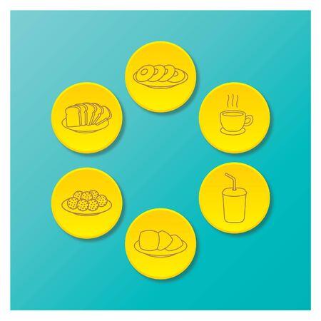 Food Icon Ilustracja