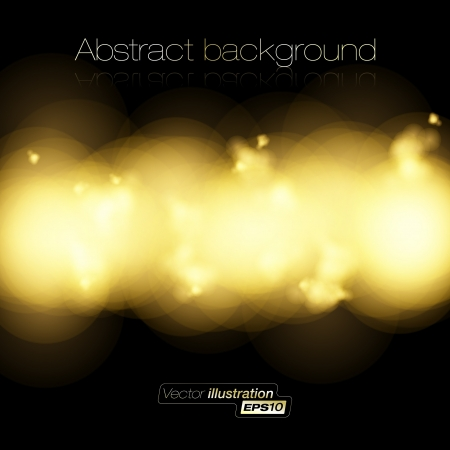 Golden light halftone background