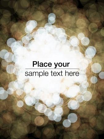 Bubbles flyer design
