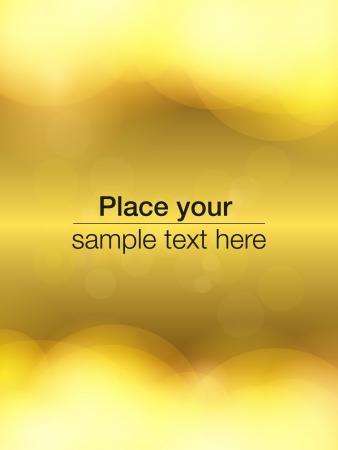 Bubbles flyer design Stock Vector - 14515858