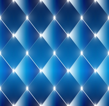 lozenge: Abstract shining rectangles blue vector background Illustration