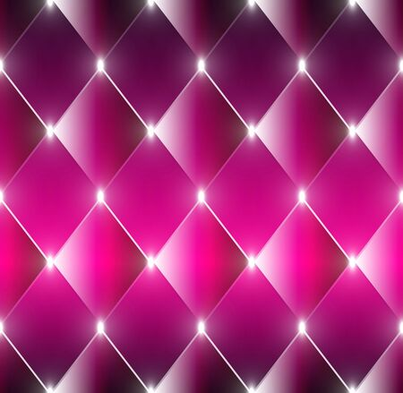 lozenge: Abstract shining rectangles crimson background Illustration