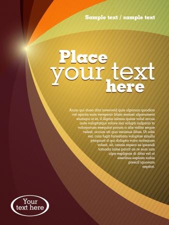 fedő: Absztrakt üzleti brosúra sablon