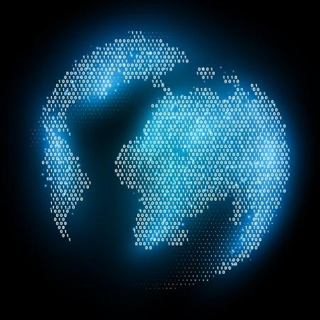 디지털 지구 개념