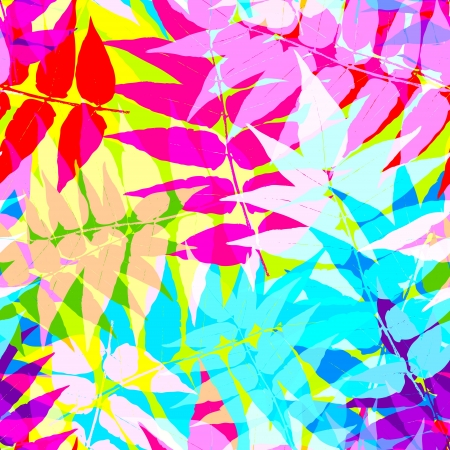 Seamless leaf pattern Stock Vector - 14580898