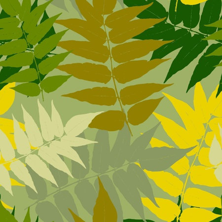 Seamless leaf pattern Stock Vector - 14580814