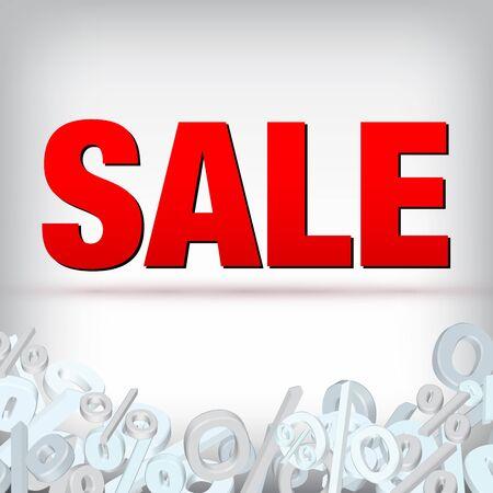 Sale decoration Vector
