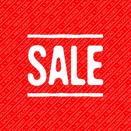 Sale decoration Vector