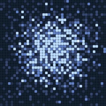 Abstract pixel mosaic Stock Vector - 14580713