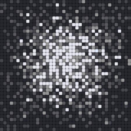 Abstract pixel mosaic Vector