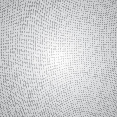 Dot matrix technology background Vector