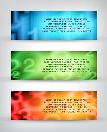 Abstract business brochure template Vector