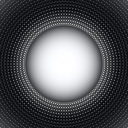 vision nocturna: Res�menes de fondo redondeado burbujas Vectores
