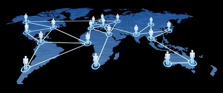 Social Network illustration Stock Vector - 15219344