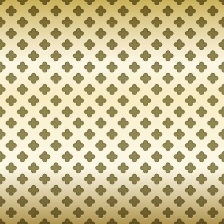 seamless metal: Abstract arabic background