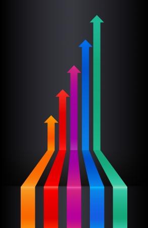 lideres: Perspectiva flechas