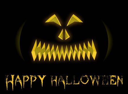 Halloween face Stock Vector - 15386851