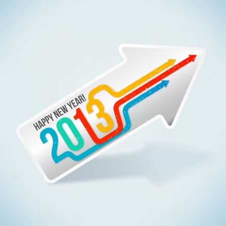 Happy New Year 2013 Stock Vector - 15940076