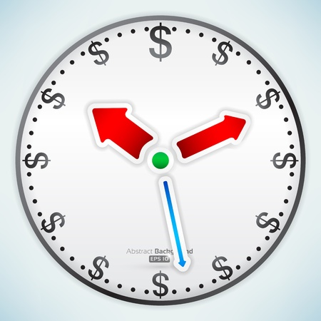 Time is money Stock Vector - 16098026