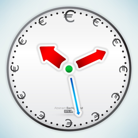 Time is money Stock Vector - 16098023