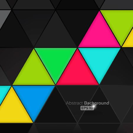 Colorful abstract background Stock Vector - 16633071