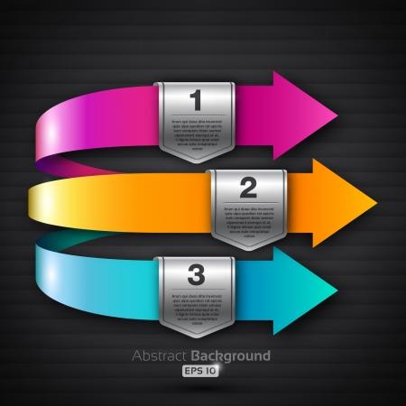 3d arrows with speech bubbles