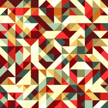 Abstract seamless mosaic background Vector