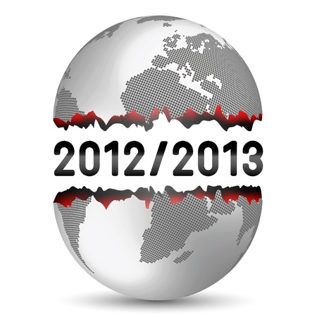 End of the World Stock Vector - 16812613