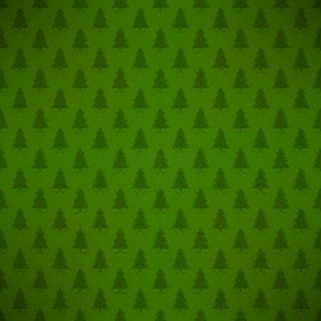 Xmas tree pattern Vector