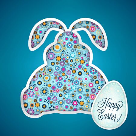 Happy Easter Card Stock Vector - 17375982