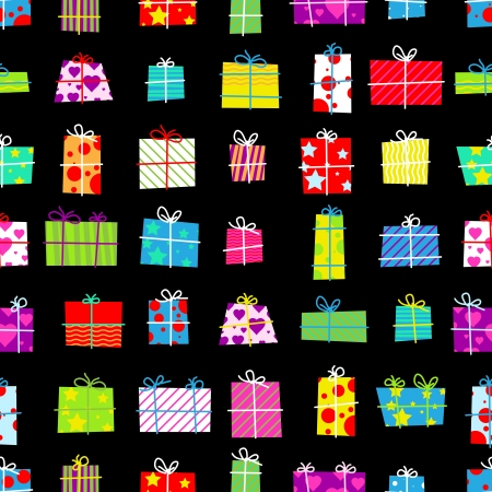 Seamless gifts background