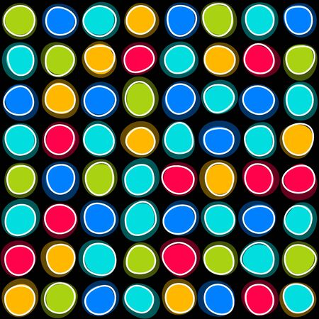 Seamless colorful spots Stock Vector - 17853884