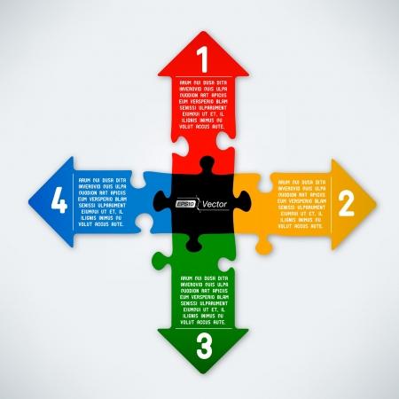 다채로운 퍼즐 화살표