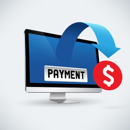 Electronic payment Stock Vector - 18214544